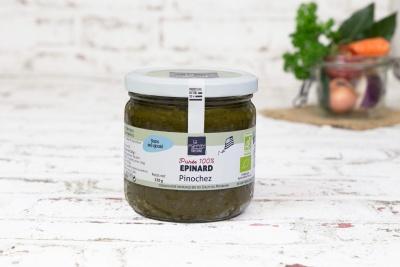Purée bio de brocoli (330 g)