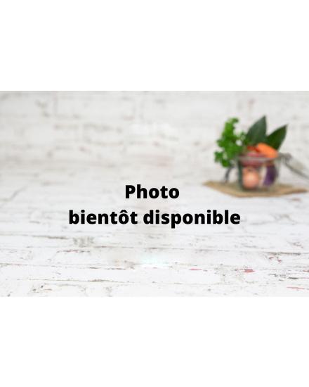 Purée bio de panais (330 g) Conserverie artisanale de légumes Bio breton. La Marmite Bretonne. Plougoumelen. Golfe du Morbihan