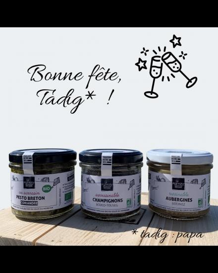 Coffret cadeau saveurs de Bretagne Coffret tartinable La Marmite Bretonne