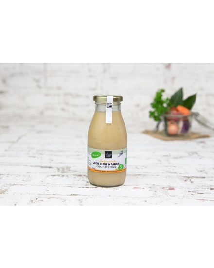 Soupe Choux-Fleur, Sarrasin & Panais (250 ml)